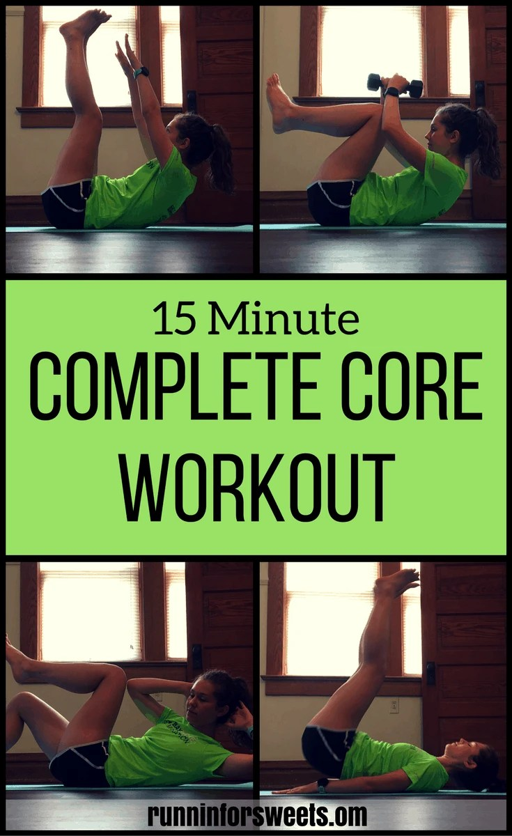 15 Minute Complete Core Workout