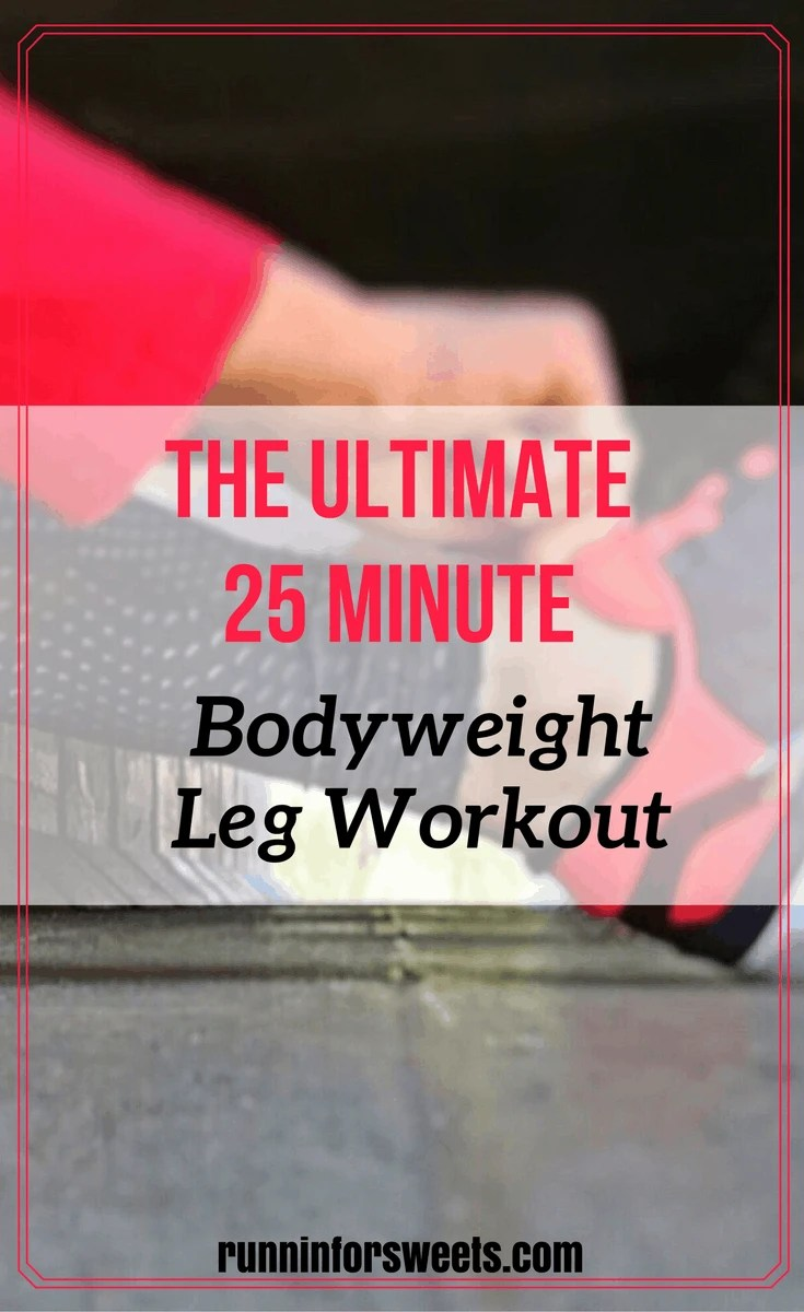 Bodyweight Leg Workout