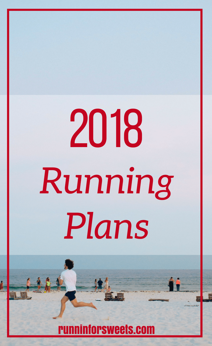 2018 Running Plans & Races