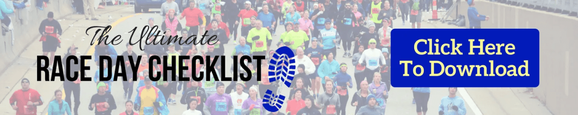 Printable Race Day Packing Checklist for Runners