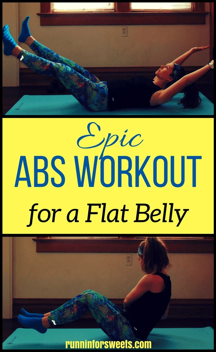 After years of experimenting with crunches, I finally found the secret to flat belly success. I've experienced some insane results from this fat burning core workout. In just 30 minutes, one day a week, this abs workout flattened my stomach and got rid of my love handles – all at home with no equipment. Keep up your work outs and you just might find yourself with six pack abs.