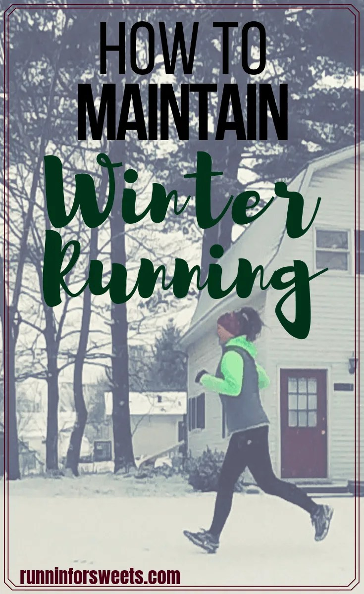 Maintaining running motivation is hard enough throughout the year, but the cold, dark winter weather brings an entirely different challenge. When winter running motivation is low, there are a few things you can do to stay motivated and running this season. #winterrunning #runningmotivation