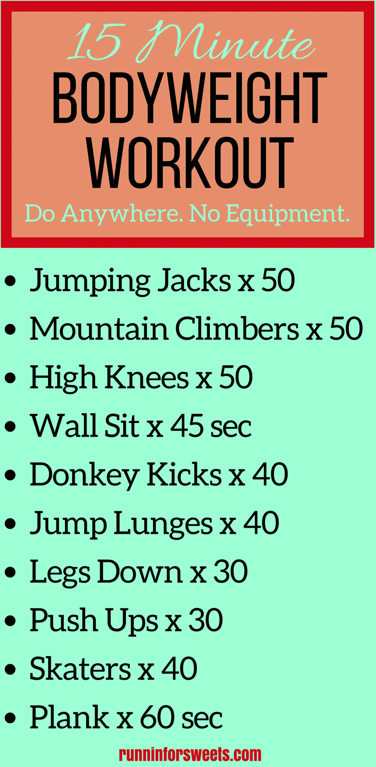 This Awesome Bodyweight Workout Is One That You Can Do Anywhere Whether Youre