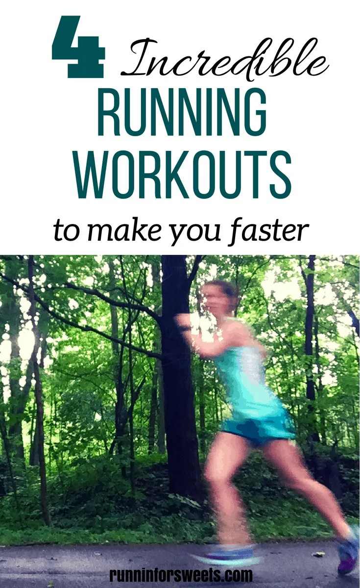 These tempo run workouts are an excellent resources for beginners and experienced runners alike. 4 tempo run variations are all you need to increase your fitness, whether you're running for fun, training for a half marathon, or getting ready for long distance running. These easy running workouts will help you to get faster outdoors!