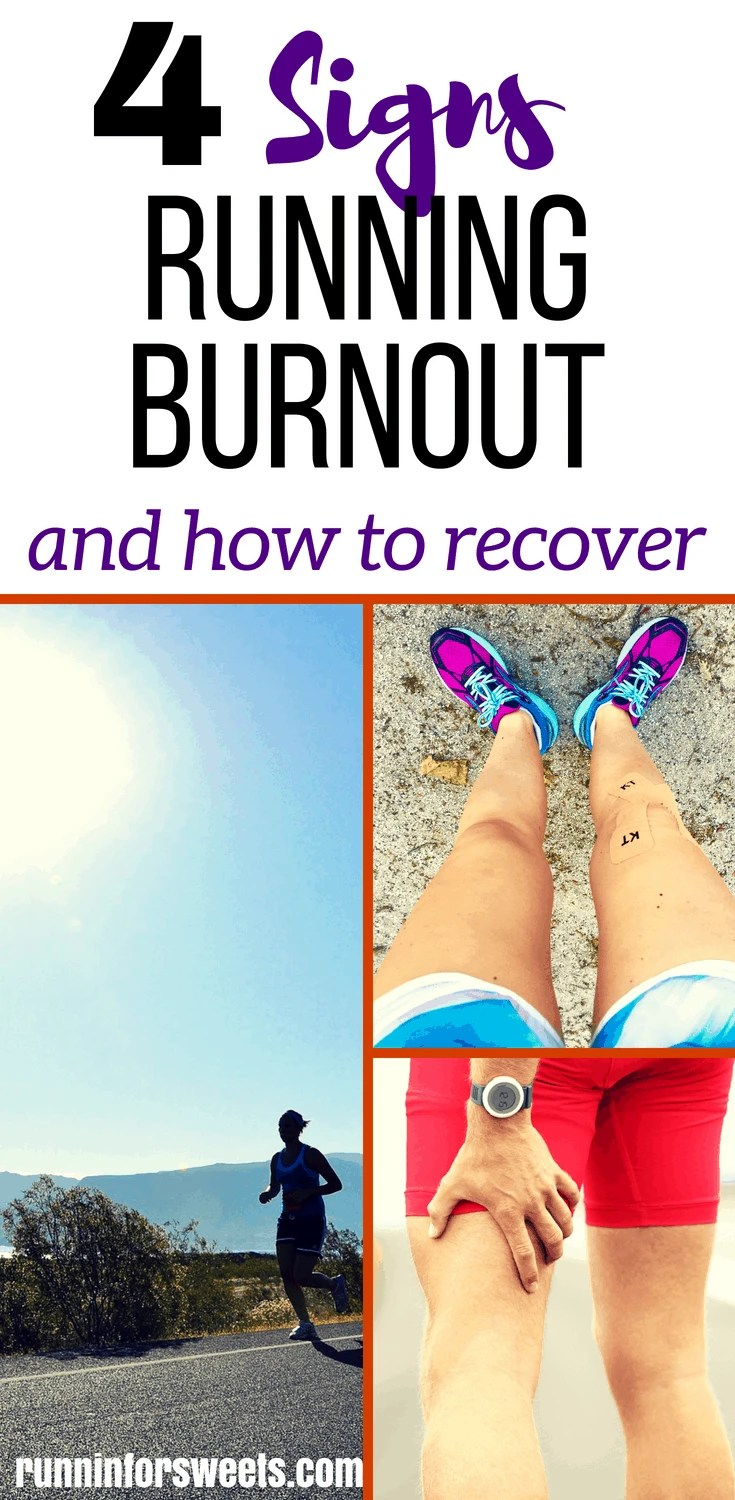 Are you feeling burnt out from running? Has running stopped feeling fun? You might be overtraining. Here are some signs of overtraining, and what to do if you're experience running burnout. Make running fun again with these simple ways to avoid burnout and quickly get back out there! #runningburnout #runningovertraining