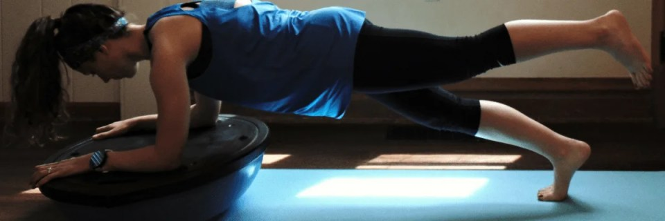 Quick and Effective Bosu Ball Workout for Runners
