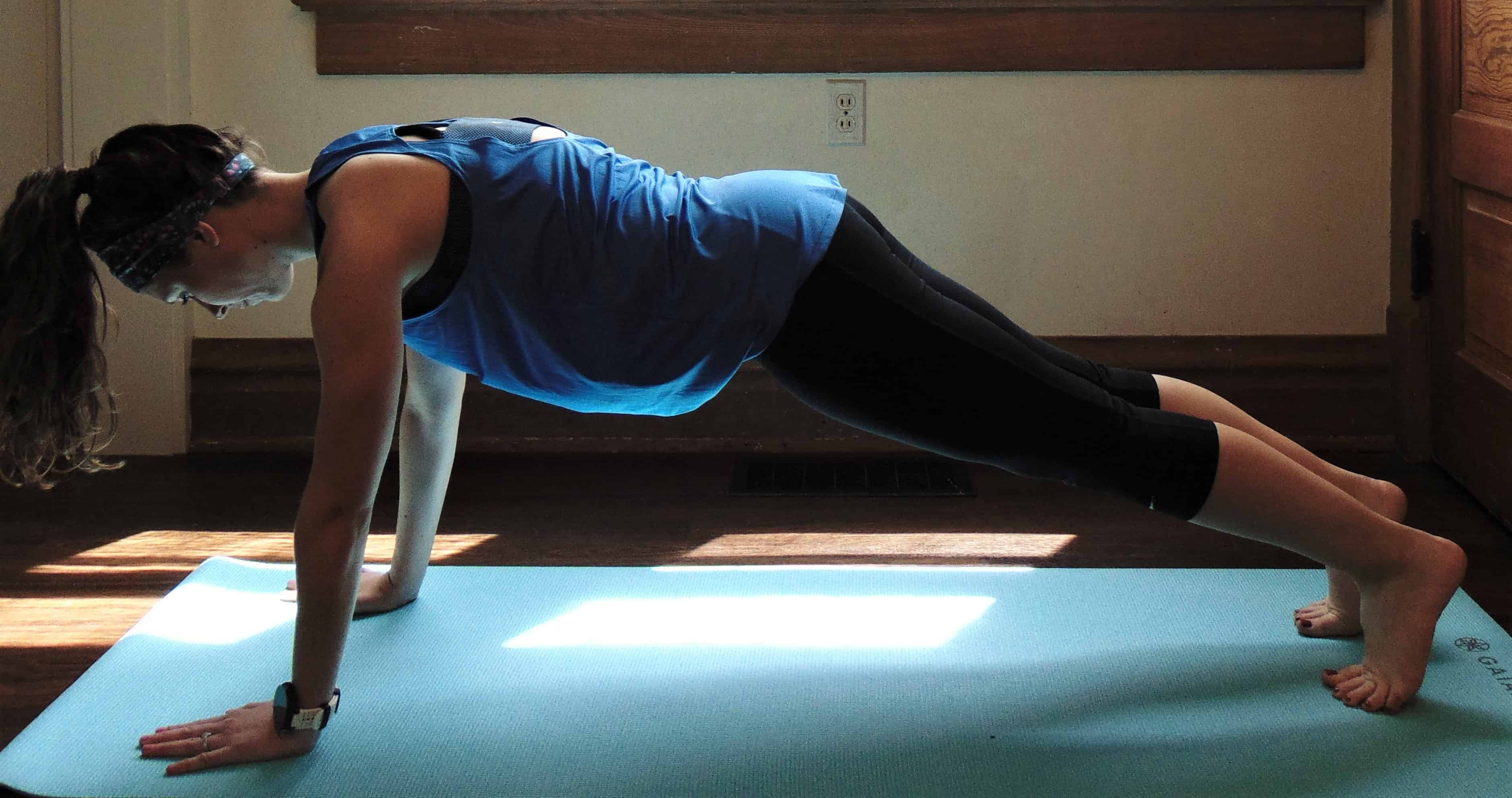 This 30 day push up challenge is the ultimate plan for beginners looking to get better at push ups and build upper body strength. The 14 push up variations start easy and gradually increase in difficulty, leaving you with strong, toned arms after just 30 days.