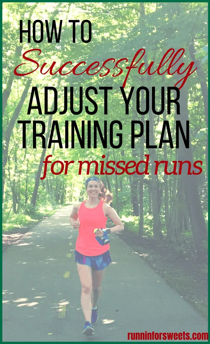 Whether you're training for your first 5k or another marathon, adjusting your training for missed workouts can be tricky. Trying to find a balance between not losing fitness, yet not injuring yourself is challenging. Luckily, missing running during half marathon or marathon training won't completely derail your progress. The key is navigating your return to running the right way. Here is everything you need to know to manage any missed running training. #marathontraining #runningtips #halfmarathontraining