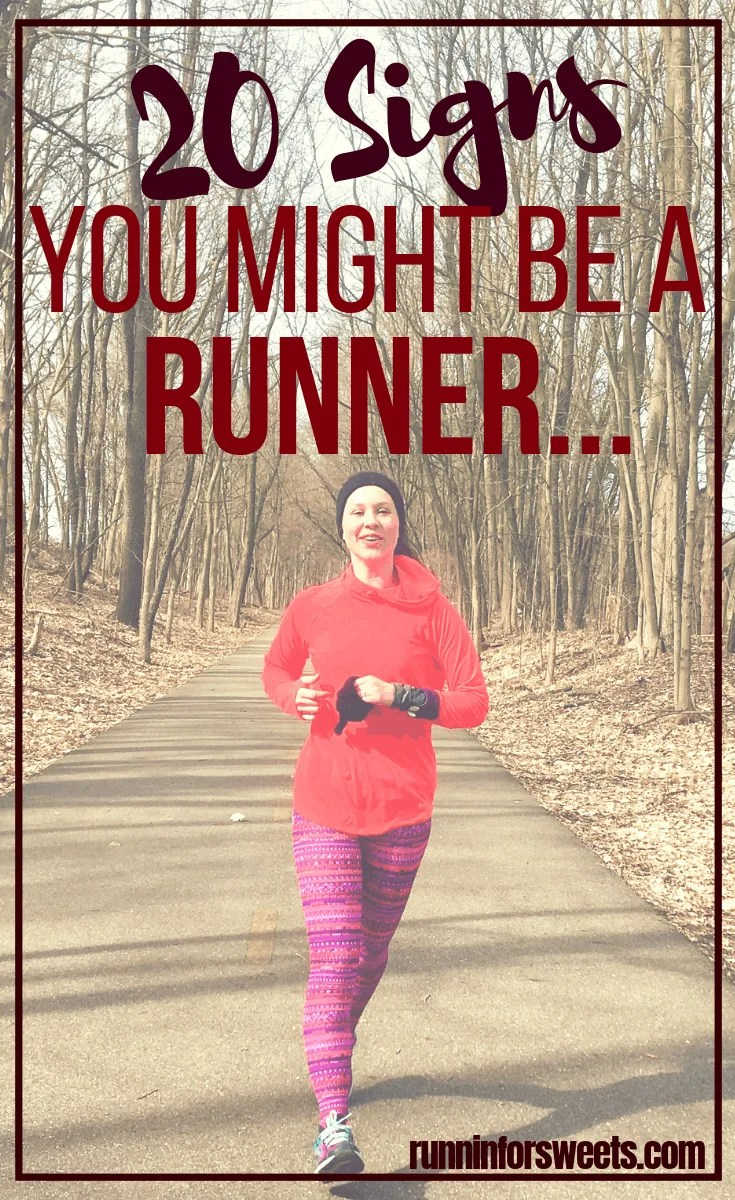Running humor: 20 signs you are a runner
