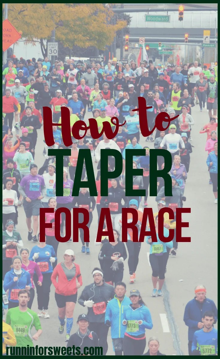 After months of training, the last thing any runner wants to do is make a mistake during race week. Here is everything you need to know to correctly taper before a race. What to expect, running taper tips, and common taper mistakes. Head into that half marathon or marathon fully rested! #taper #runningtaper #tapertips #raceweek