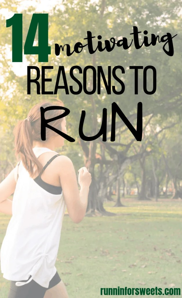 There are so many reasons to love running! Whether you're just getting started or are an experienced athlete, running will benefit you in so many ways. Here are 14 reasons to run – some reminders of the life-changing benefits of running for motivation when you need it most. #benefitsofrunning #reasonstorun