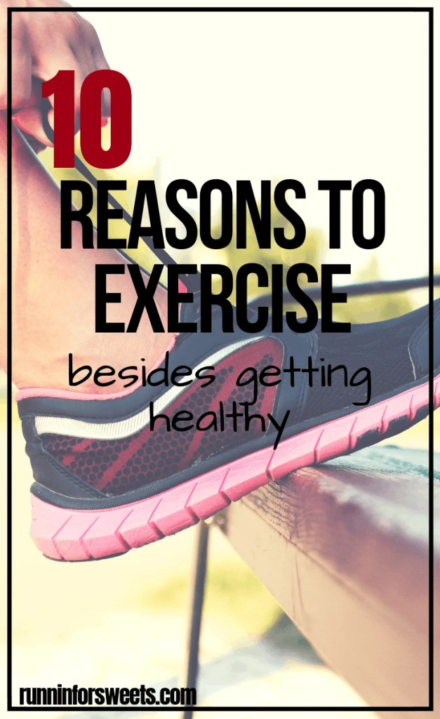 Sometimes finding workout motivation is easier said than done! These 10 reasons to exercise will help you stay on track and healthy when you most need inspiration. Overcome low motivation with these incredible benefits of staying active. #reasonstoexercise #reasons to workout #healthylifestyle