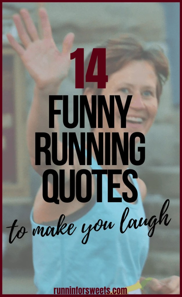 Check out the ultimate source of running humor with these 42 funny running quotes, hilarious running jokes, and running thoughts to keep you laughing. These motivational sources of humor will encourage all runners when they need it most! #runningquotes #runningjokes #runningthoughts