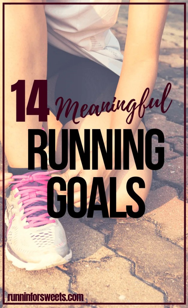 These 14 running goals are the perfect source of inspiration and motivation this new year. Check out the top running goal ideas for your training this year – whether you're a beginner or advanced runner. #runninggoals #runninggoalideas #runninginspiration