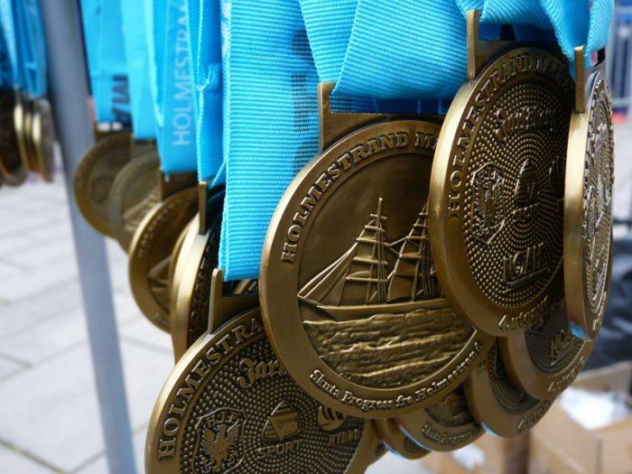 Μαραθώνιος Holmestrand μετάλια