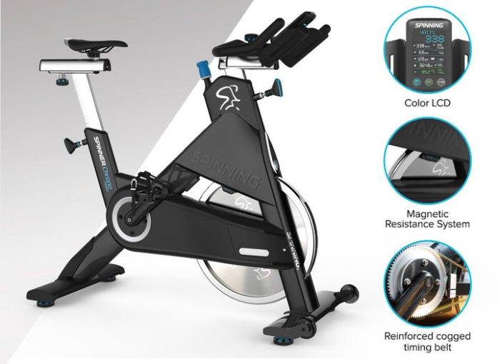 Ποδήλατο spinning power cycling για γυμναστήριο
