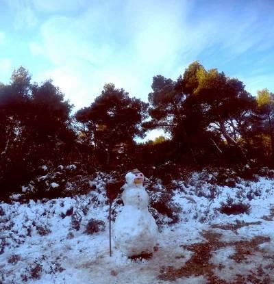 Χιονάνθρωπος Ελάφι Βαρυμπόμπης Αγώνας Βουνού Τρεξίματος