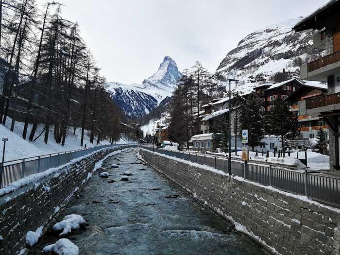 Χωριό Ζερματ Zermatt στην Ελβετία - Χιονοδρομικό κέντρο Ελβετίας - Matterhorn