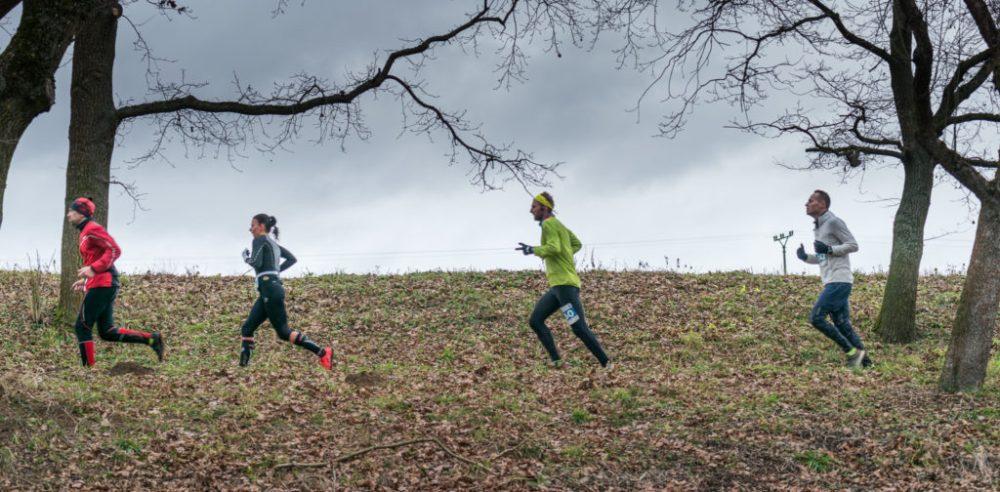 Foto: Zimní běh na Blaník