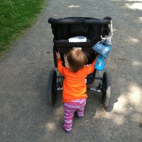 What does running after babies mean to me - right now?