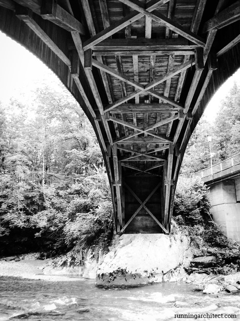 Wooden Bridge, Austria