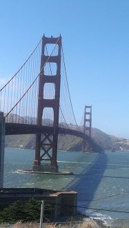 I really fell in love with the Golden Gate Bridge all over again training for this event.