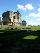 Just one of the photos I took of the Minster Lovell ruins