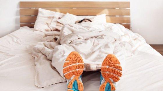 Hardlopen slapen als herstel