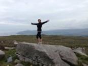 Hiking Goatfell, Scotland 2014