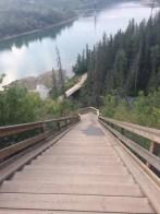 Wolf Willow Stairs in Edmonton Alberta