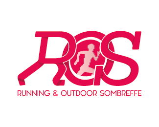 Logo Running Outdoor Sombreffe