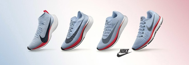 La gamme de chaussures Nike Zoom