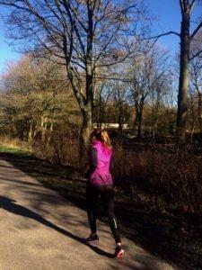 Hardlopend in Groningen