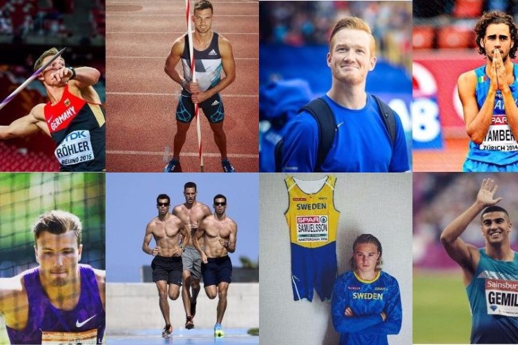 Hunks EK Atletiek 2016!