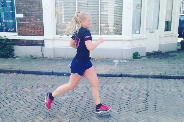Running Girl van de week: Mariët!