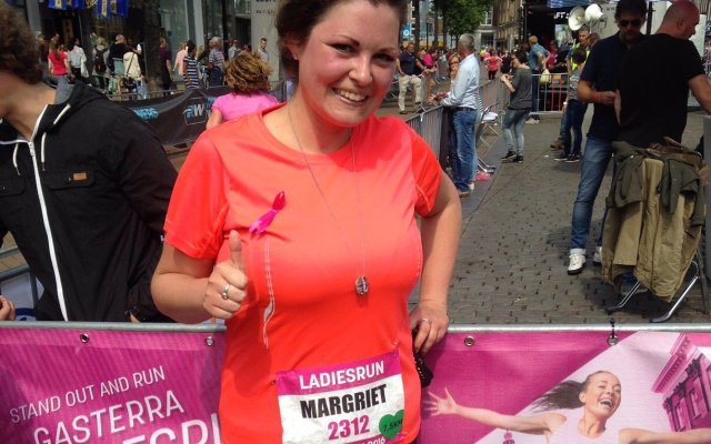 Running Girl van de week: Margriet!