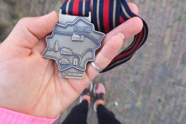 Zwolse halve marathon (Marit!)