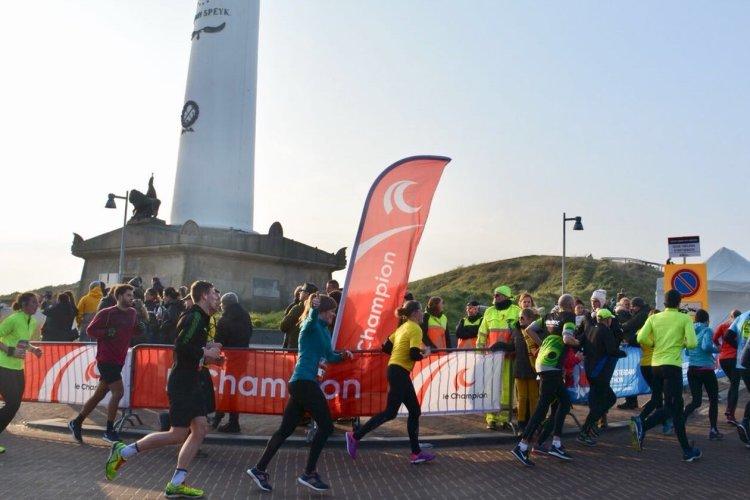 Egmond aan Zee halve marathon!