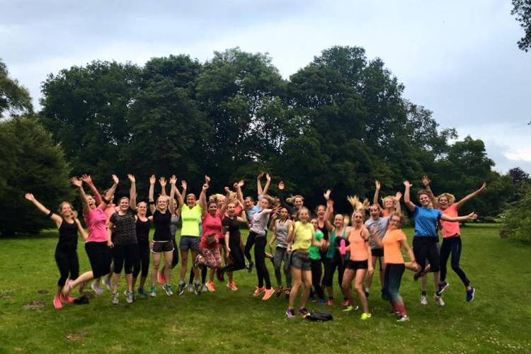 Running Girls Groningen Trainingskamp!