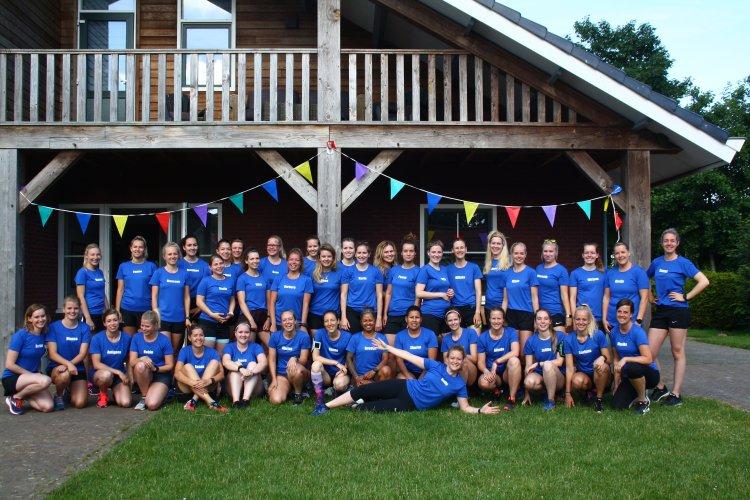 Groepsfoto!! Run and Casual, bedankt voor de fijne shirt samenwerking!
