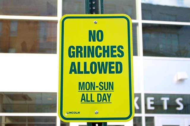 No Grinches Allowed in Lincoln. Ever!