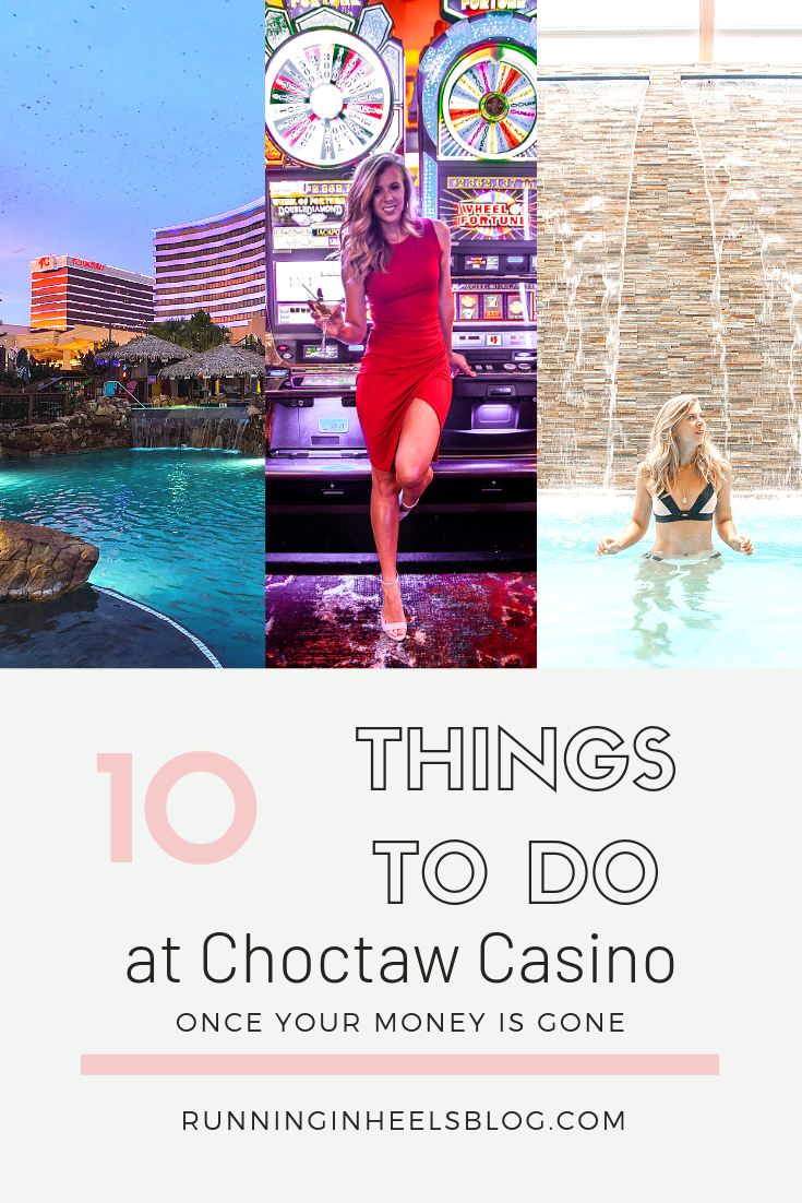 The Best Things to Do at Choctaw Casino & Resort featured by top US travel blog, Running in Heels: image of a woman at Choctaw Casino and Resort