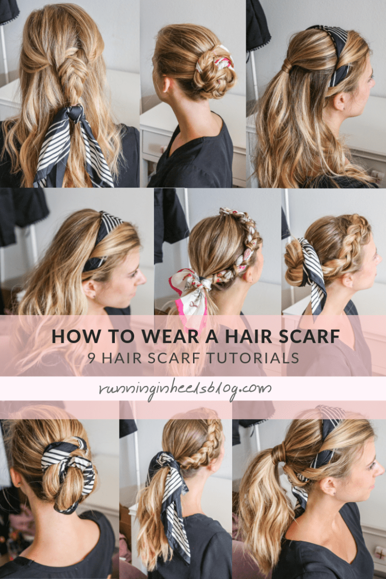 How to Wear a Hair Scarf, tips featured by top US beauty blog, Running in Heels