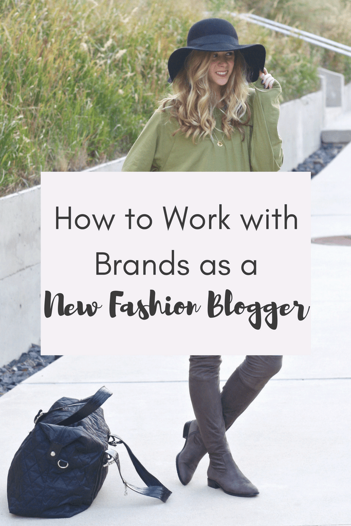 Work with Brands as a New Blogger | Running in Heels | Blogging Tips