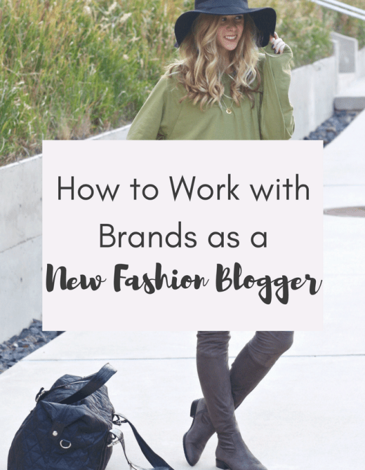 Work with Brands as a New Blogger   Running in Heels   Blogging Tips