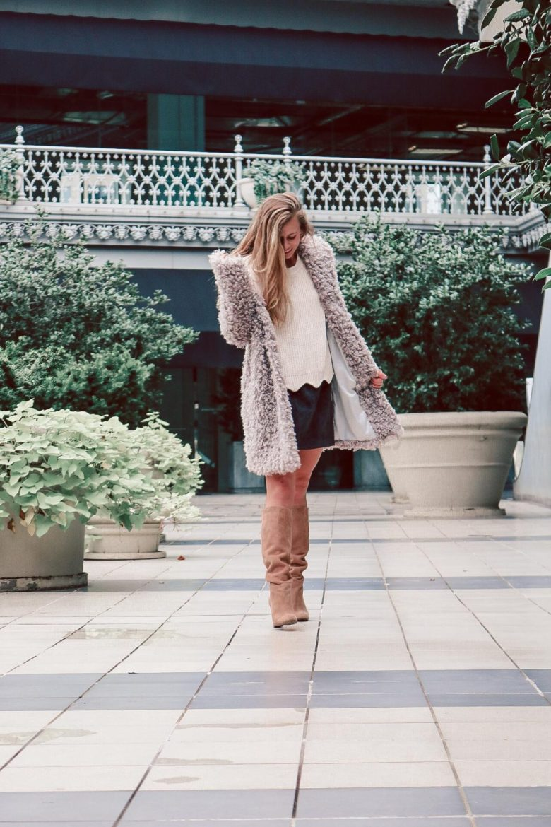 How to Choose the Best Winter Coats  and teddy coats featured by top US fashion and style blogger, Running in Heels