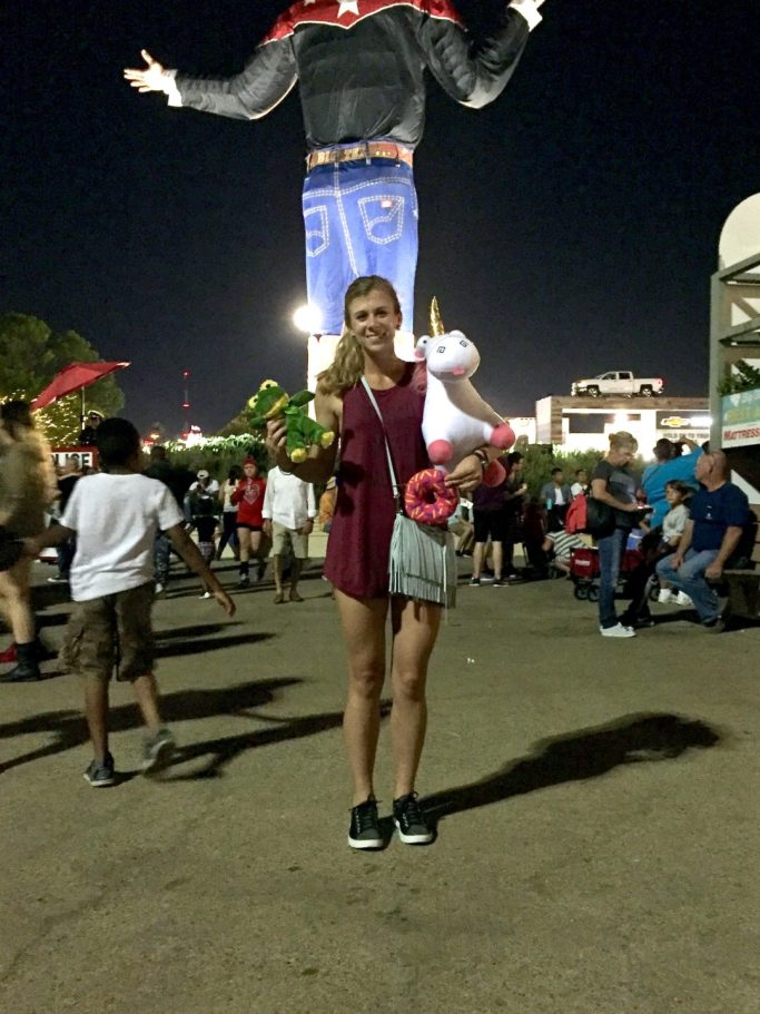 You Had Me at Merlot, Running in Heels at the State Fair