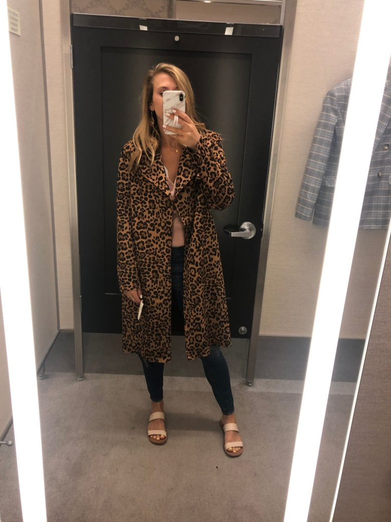 Nordstrom Anniversary Sale trends featured by top US fashion blog, Running in Heels: unstructured jackets