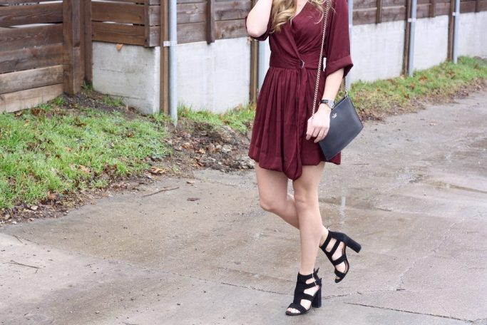 Wrap Dress for Valentine's Day