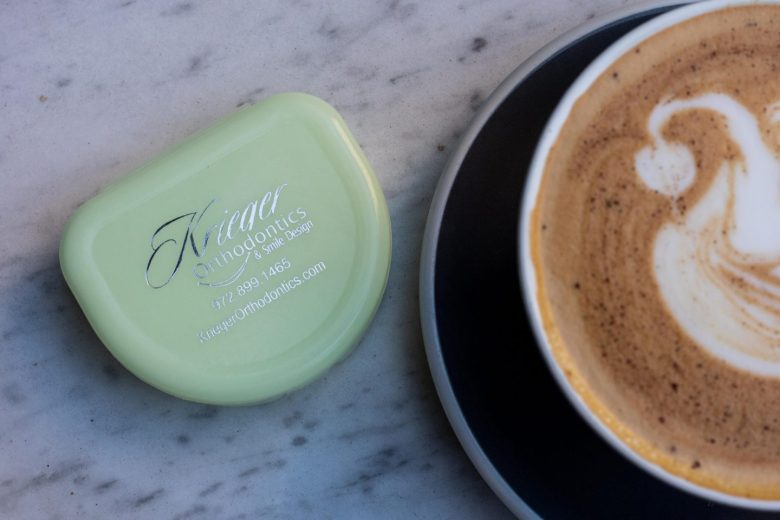 coffee and invisalign from Krieger Orthodontics, a review featured by top US life and style blog, Running in Heels